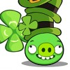 Angry Birds St Patrick`s Day