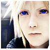 Cloud blue eyes