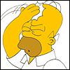Homer head slap