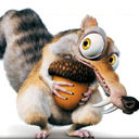 Ice Age Squirrel