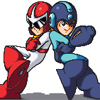 MegaMan and Dude