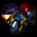 PlanetSide helmets