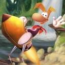 Rayman On A Rocket