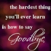 The Hardest Thing...