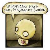 face heart emo