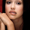 jessica alba black hair2