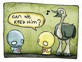 keep him